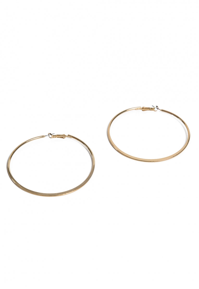 Brooklyn Hoop Earrings - Jewelry - Wetseal
