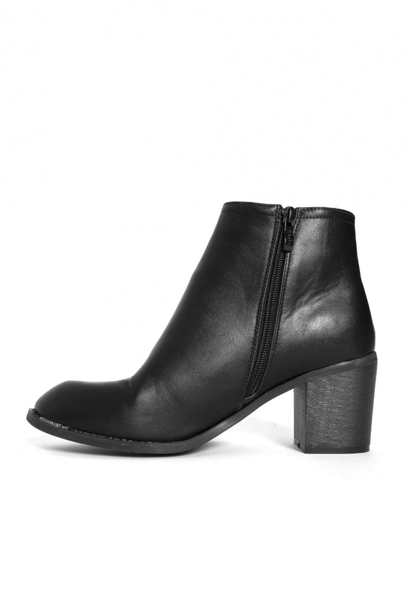 Whiskey Ankle Boots in Black - Shoes - Wetseal