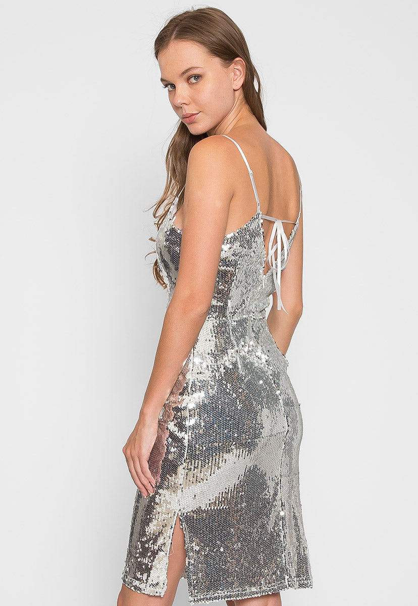 Special Event Sequin Dress - Dresses - Wetseal