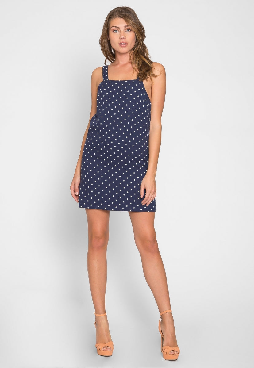 Out and About Polka Dot Mini Dress - Dresses - Wetseal