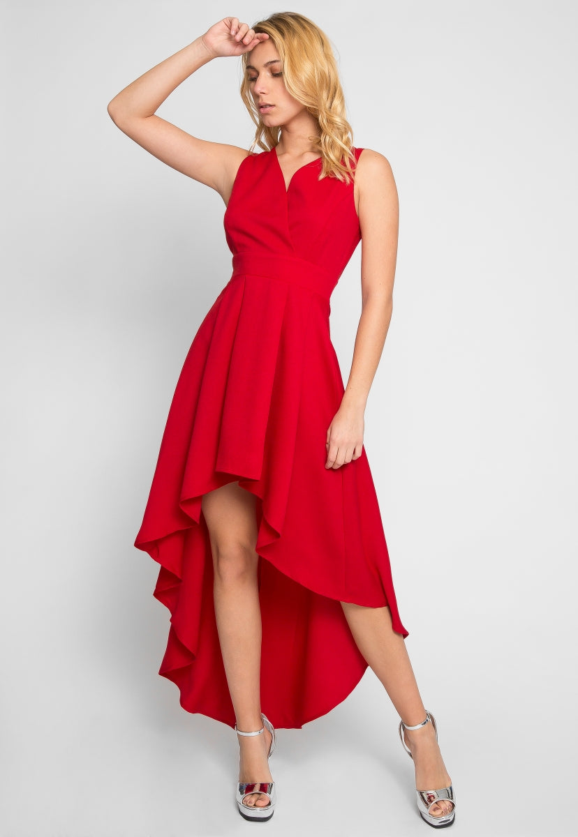 Flaunty High Low Party Dress - Dresses - Wetseal