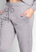 Meet Me There Heathered Joggers in Gray