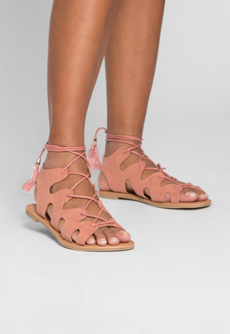 Baja Lace Up Sandals