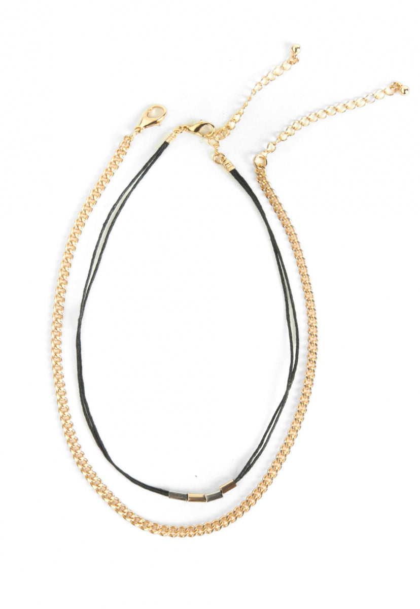Breathe Layered Choker - Jewelry - Wetseal