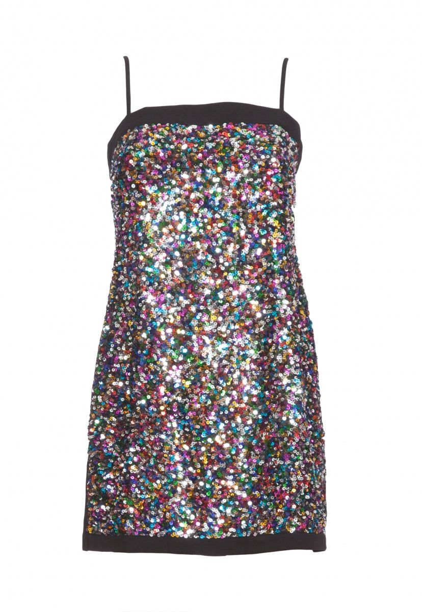 Dancehall Sequin Dress - Dresses - Wetseal