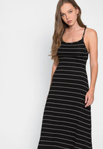Hopper Stripe Midi Dress