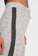 Bamboo Knit Joggers in Gray