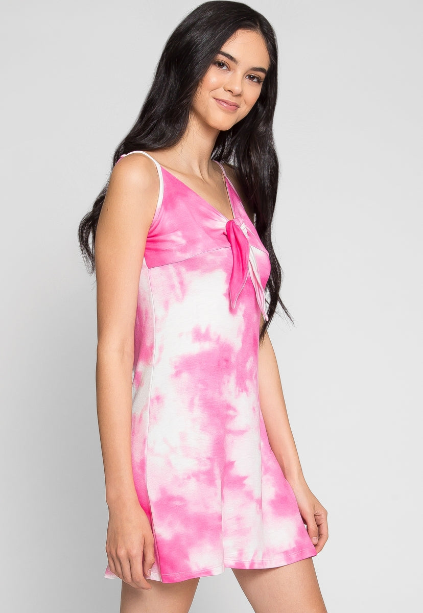 Stella Tie Dye Dress - Dresses - Wetseal