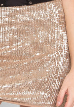 Westville Sequin Mini Skirt