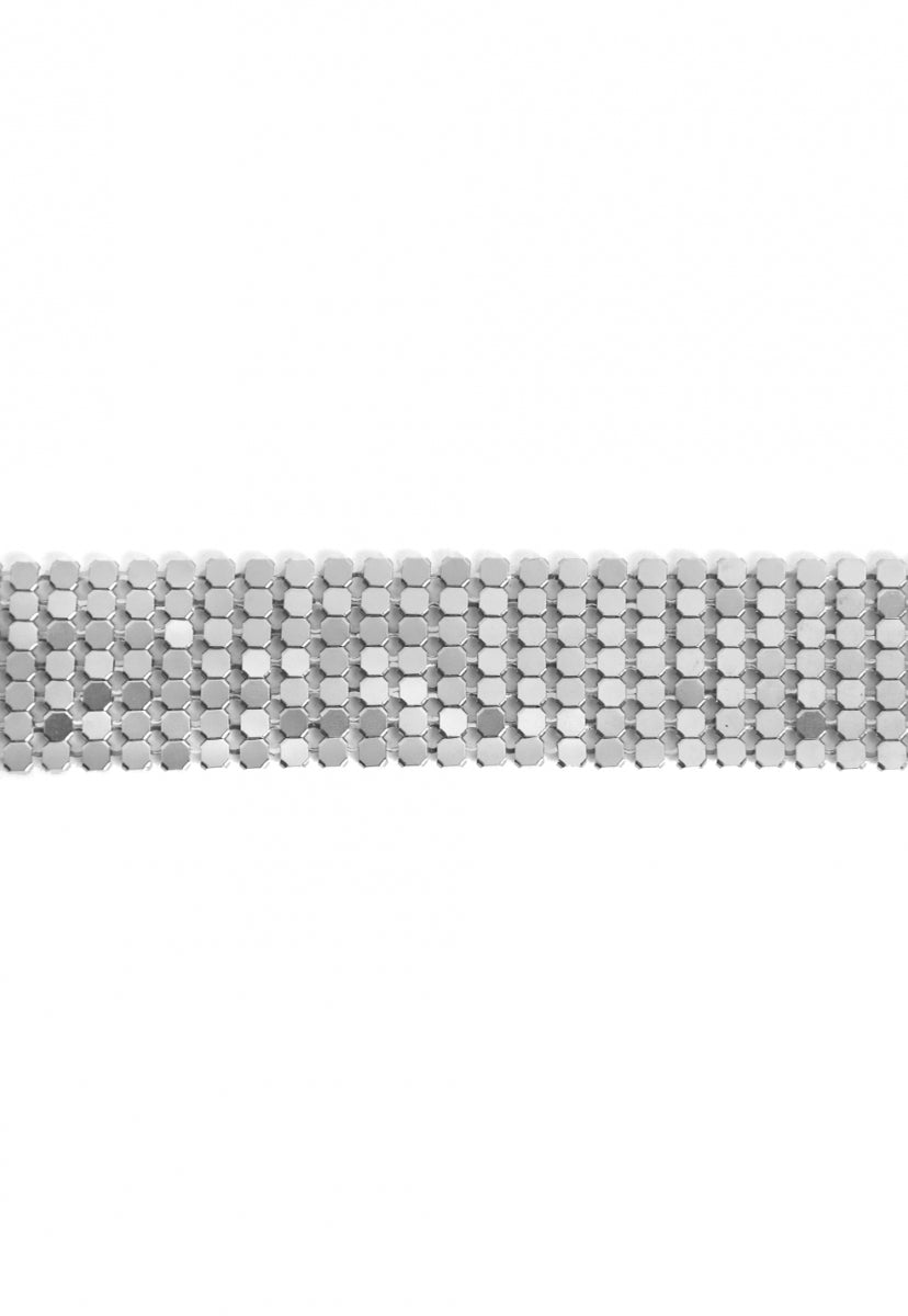 Chainmail Choker in Silver - Jewelry - Wetseal