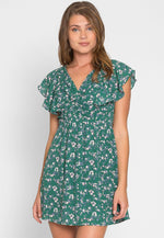 Joshua Floral Empire Dress