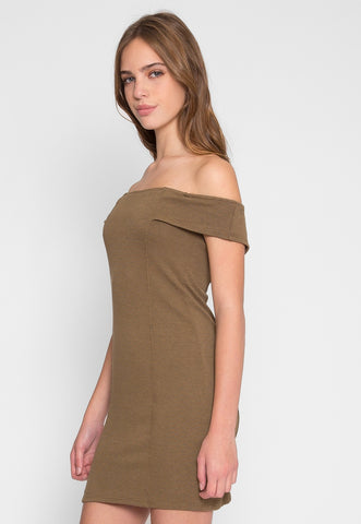 Olive Branch Mini Dress