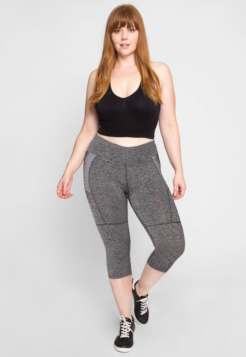 Plus Size Oak Park Active Leggings - Plus Bottoms - Wetseal