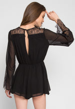 Rodeo Lace Romper