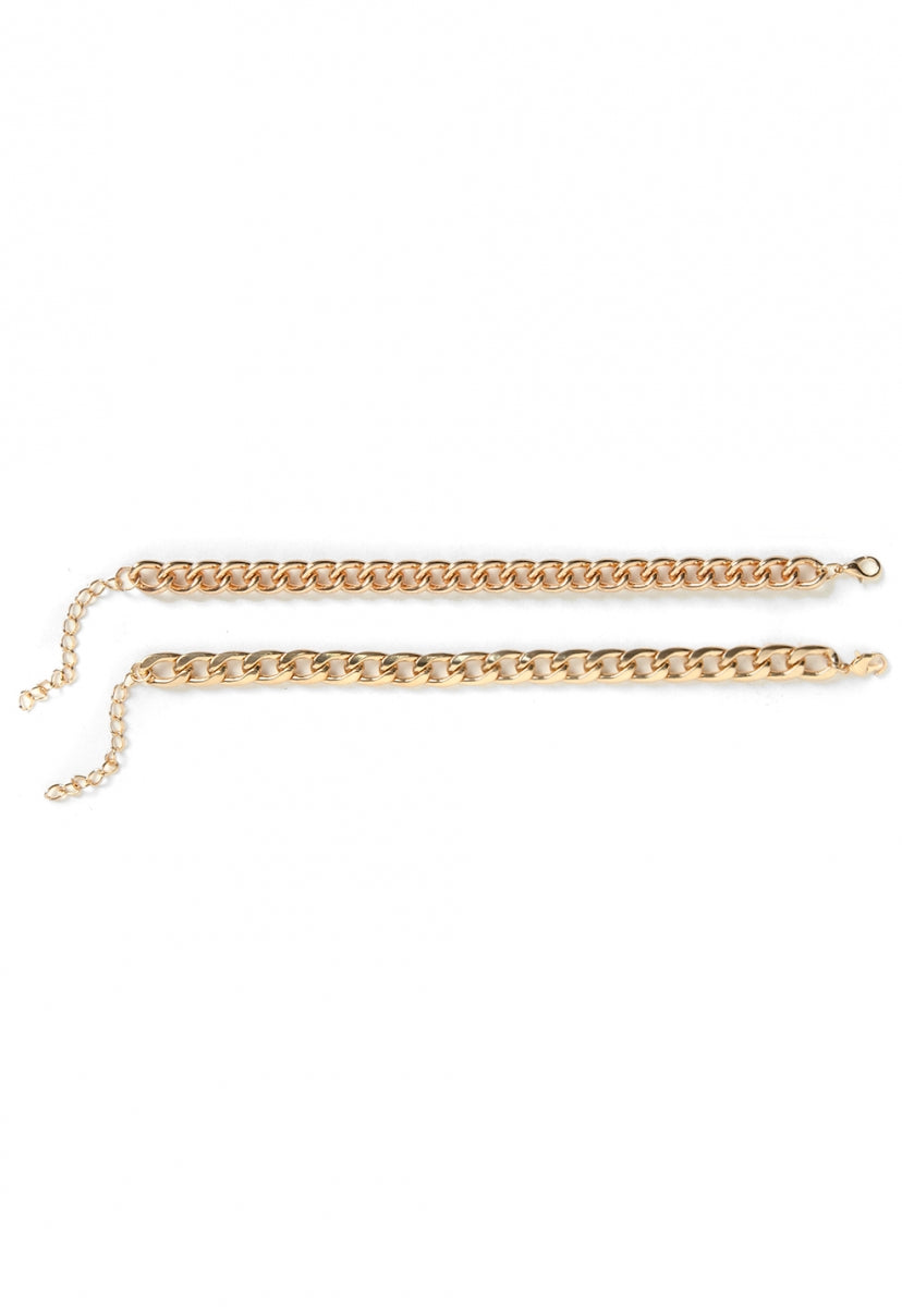 Back Up Chain Bracelet - Jewelry - Wetseal