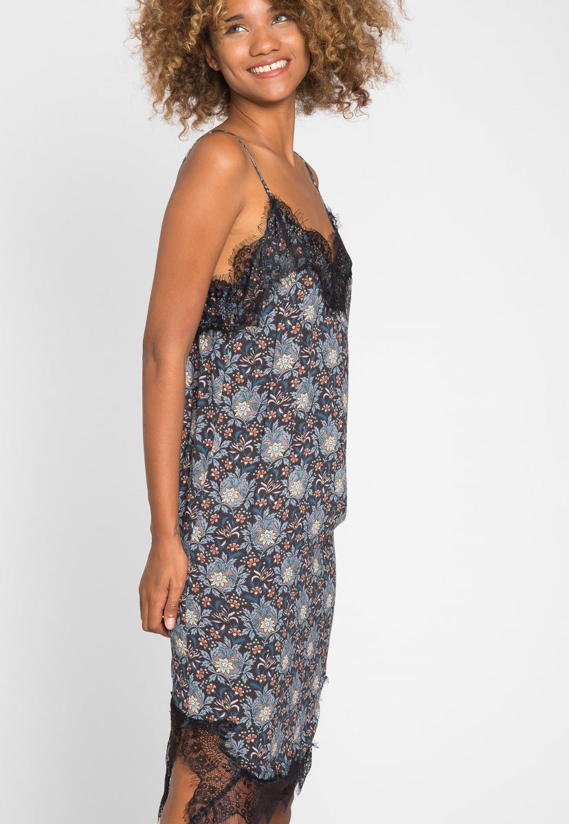 Sweet Like Candy Floral Slip Dress - Dresses - Wetseal