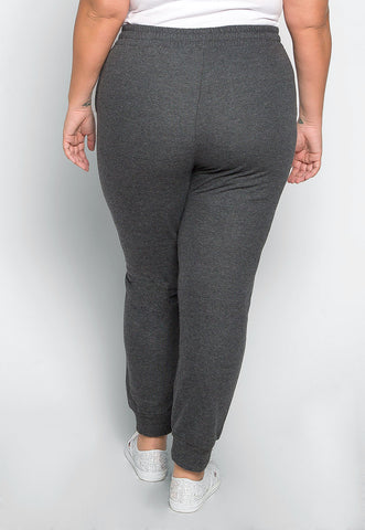 Plus Size So Good Sweatpants in Charcoal