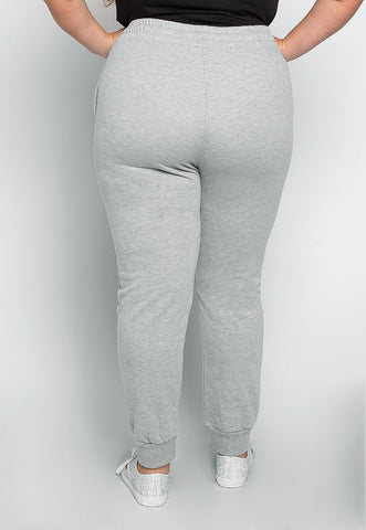 Plus Size So Good Sweatpants in Gray
