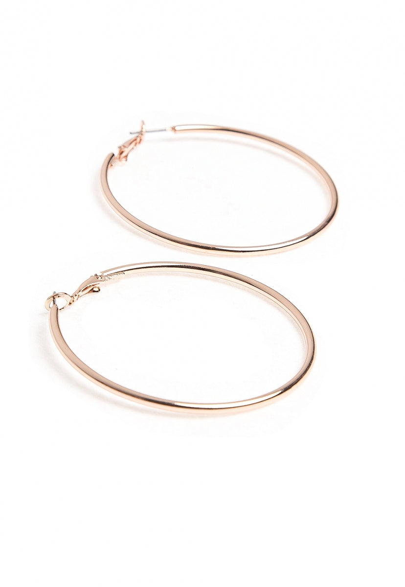 Better Believe It Hoop Earrings - Jewelry - Wetseal