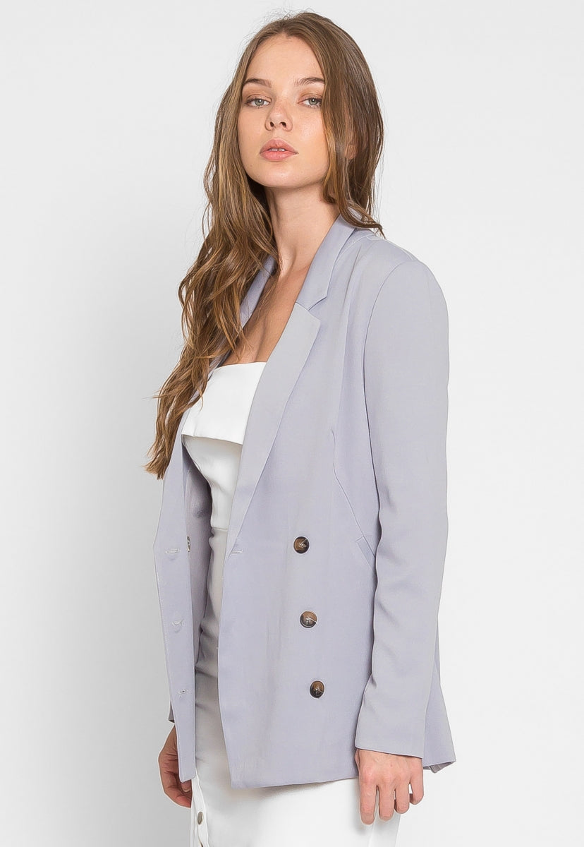 May Double Breast Blazer - Jackets & Coats - Wetseal