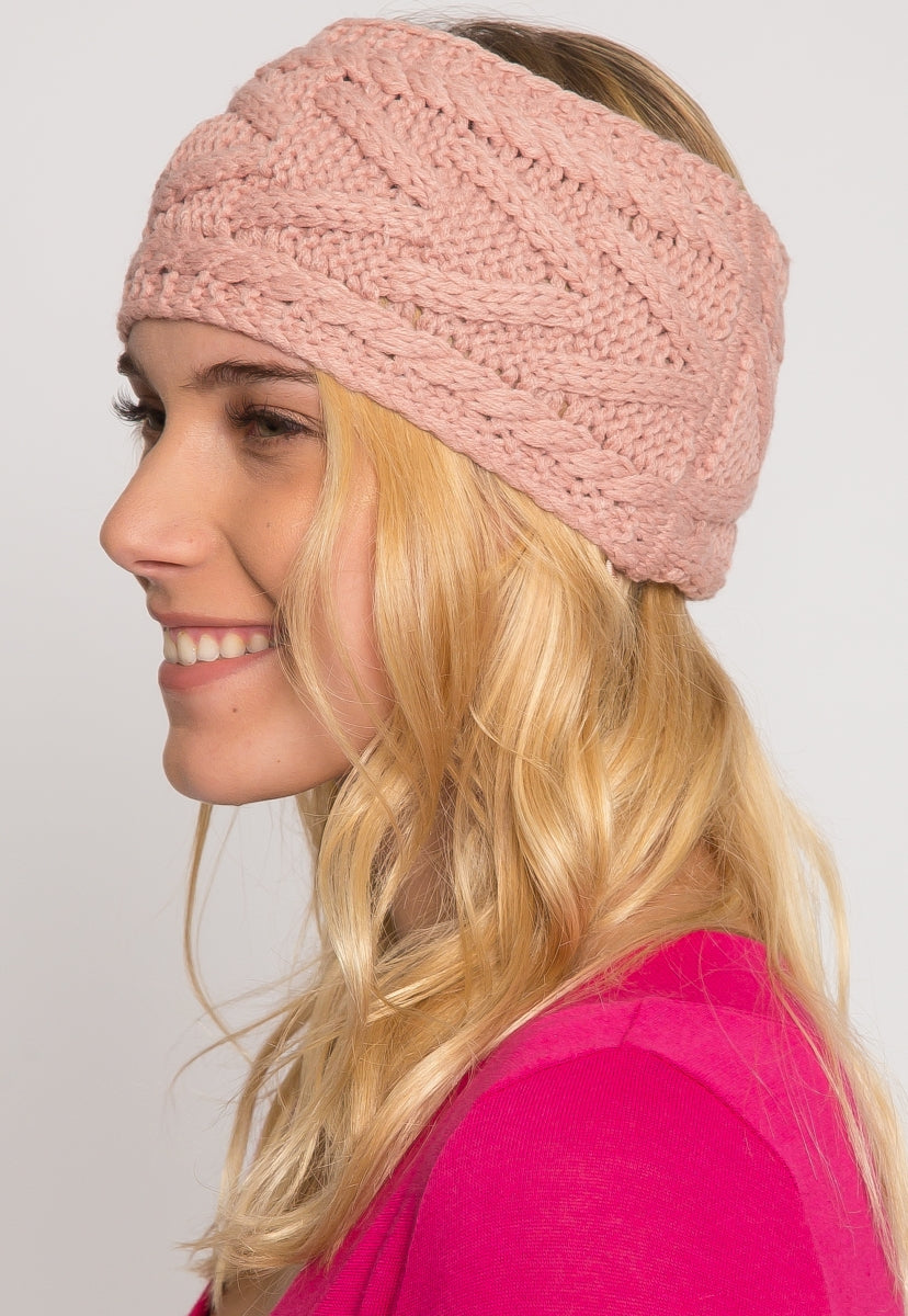 Cuddle Up Ribbed Knit Headband - Hat & Hair - Wetseal