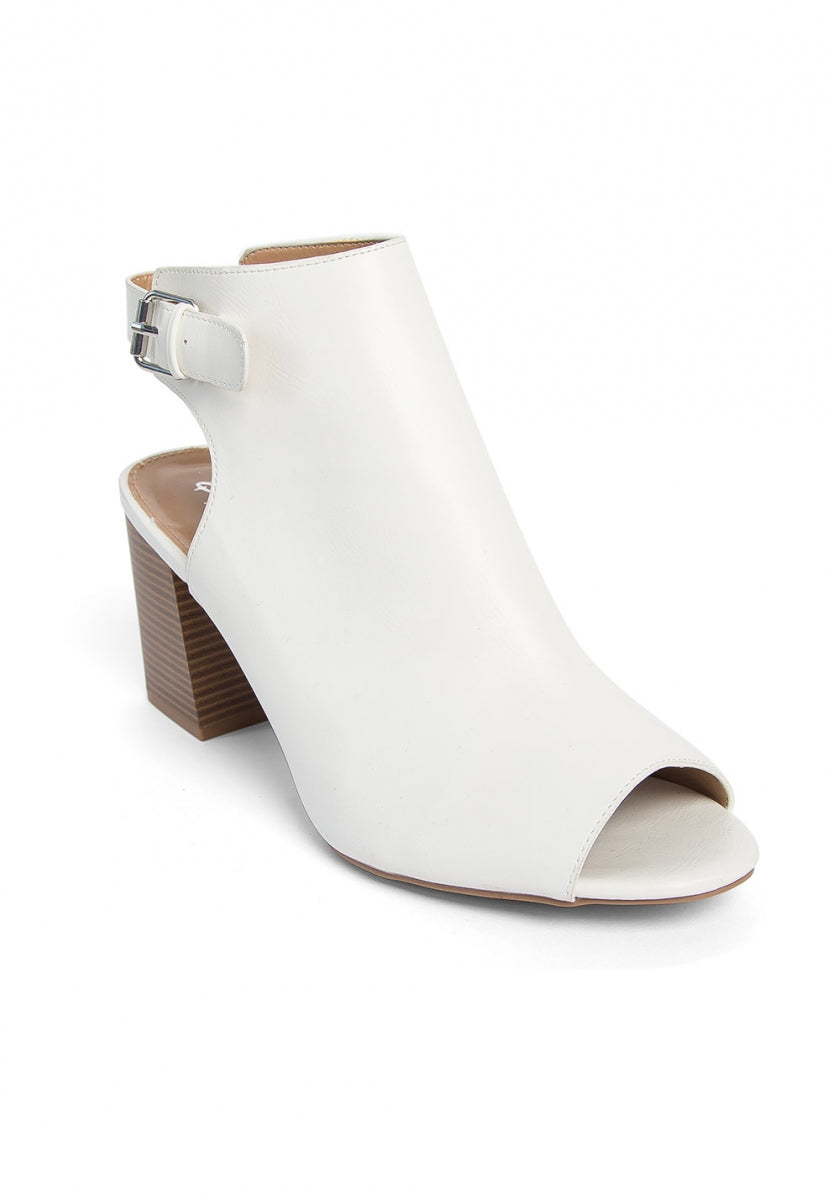 Romijn Cut Out Ankle Boots - Shoes - Wetseal