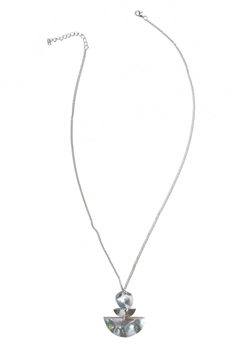Seismic Pendant Necklace in Gold - Jewelry - Wetseal