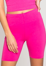Blake Biker Shorts in Hot Pink