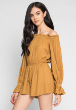 Brookhaven Off Shoulder Romper