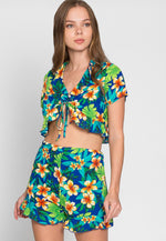 On Vacation Print Two Piece Set
