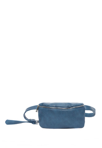 Pebble Fanny Pack in Blue
