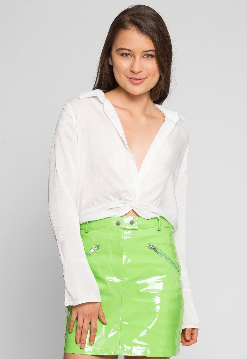 Up State Sheer Blouse - Shirts & Blouses - Wetseal