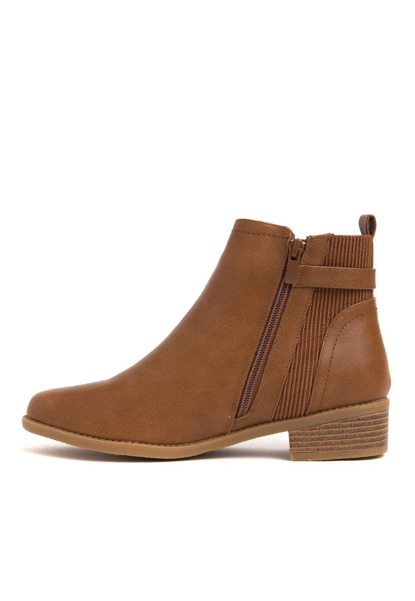 Rustic Boho Ankle Boots - Shoes - Wetseal
