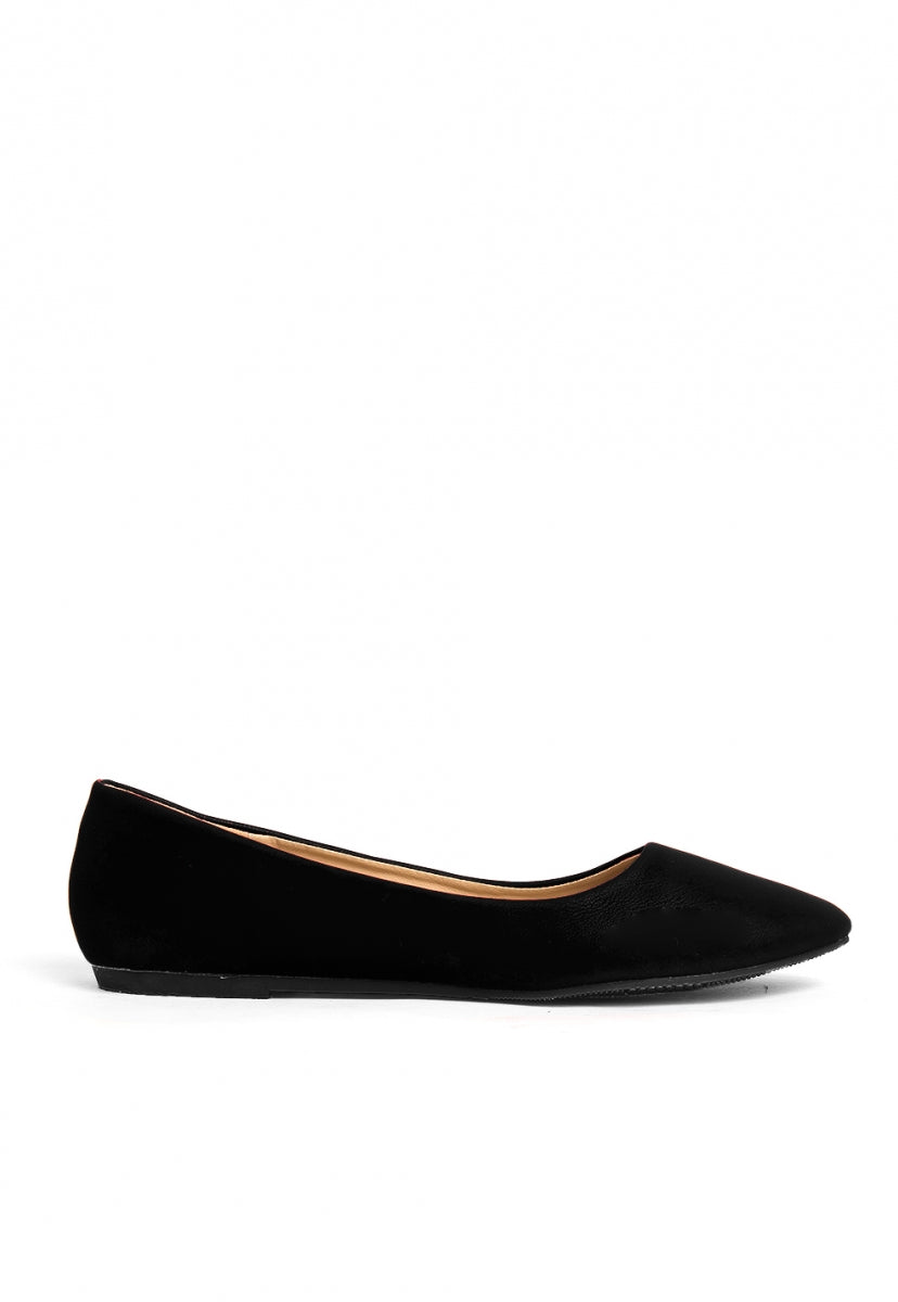 Posh Classic Flats in Black - Shoes - Wetseal