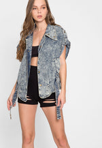 Radical Acid Wash Jean Jacket