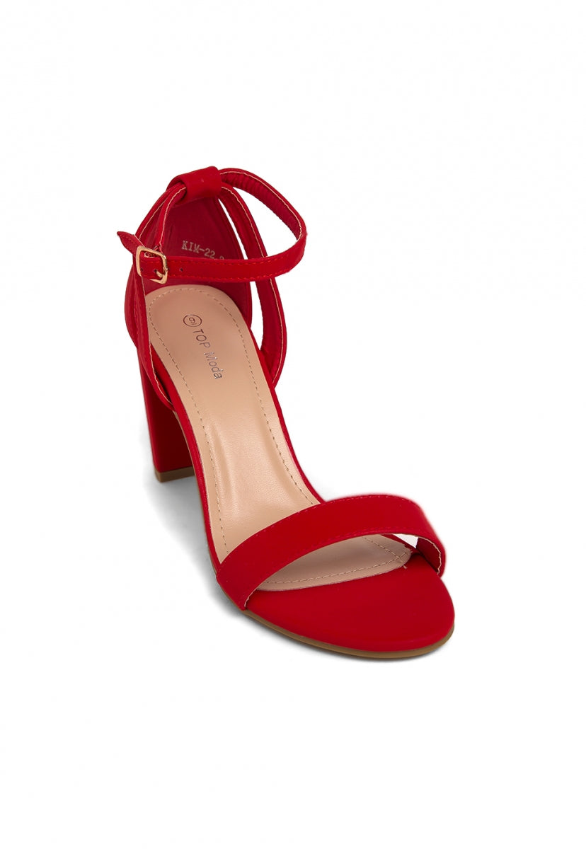 Stephanie Ankle Strap Heels - Shoes - Wetseal
