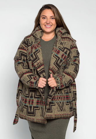 Plus Size Free Spirit Boho Coat