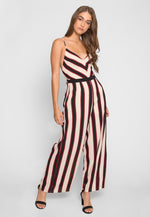 Carnival Chevron Stripe Jumpsuit