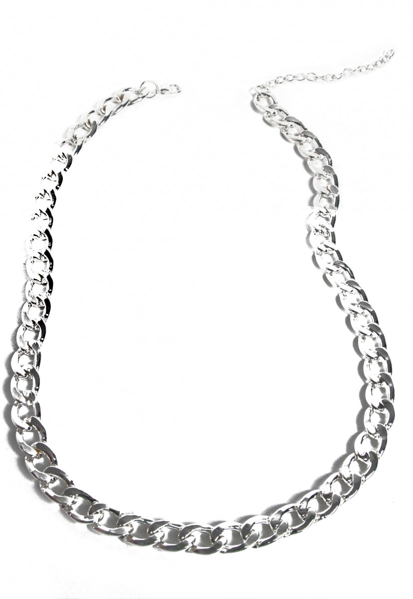 Chain Link Reaction Necklace - Jewelry - Wetseal