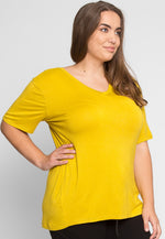 Plus Size Greatest Boxy Tee in Chartreuse