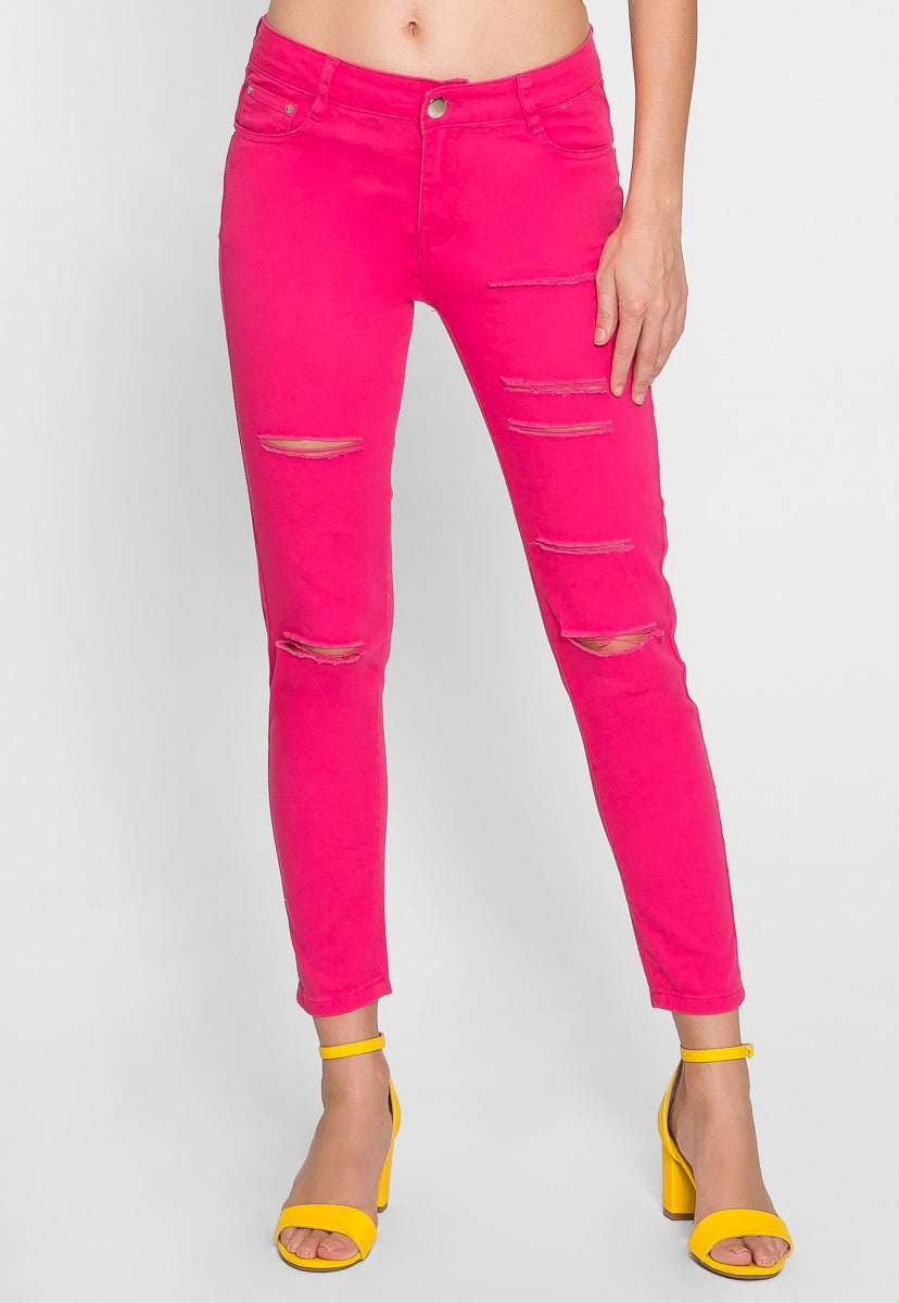 Reign Distressed Jeans - Jeans - Wetseal