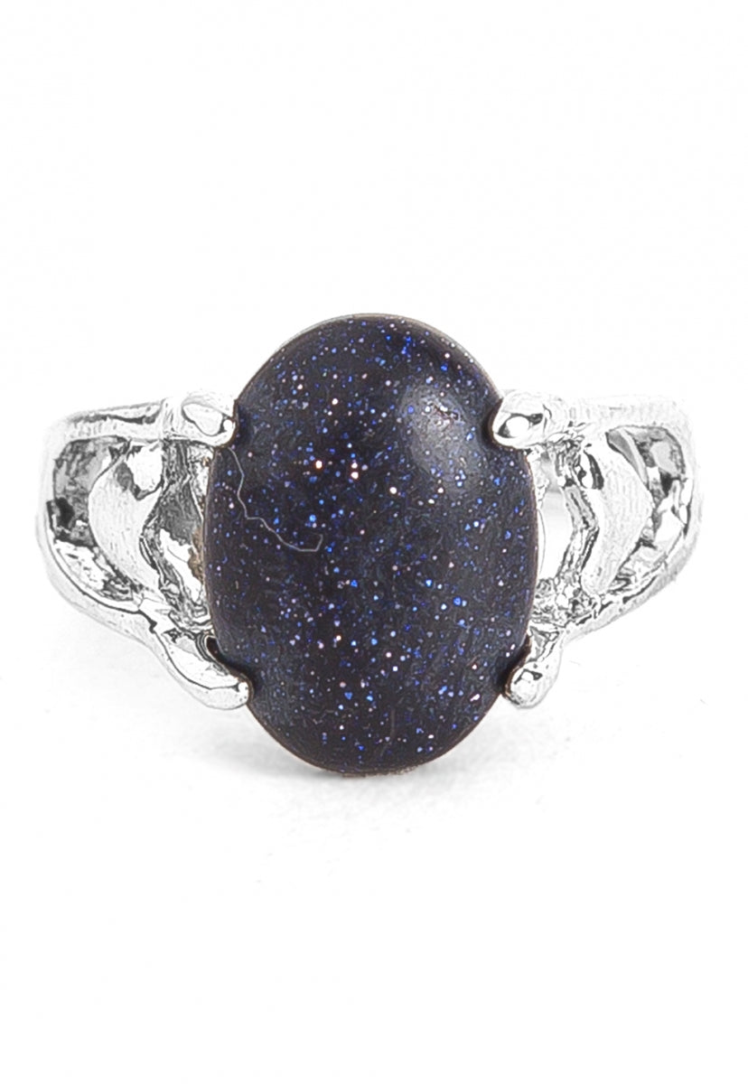 Luck Goldstone Ring - Jewelry - Wetseal