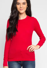 The Seal Thermal Top in Red