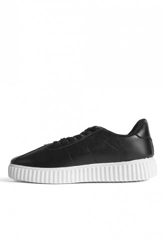 Front Stage Faux Leather Sneakers