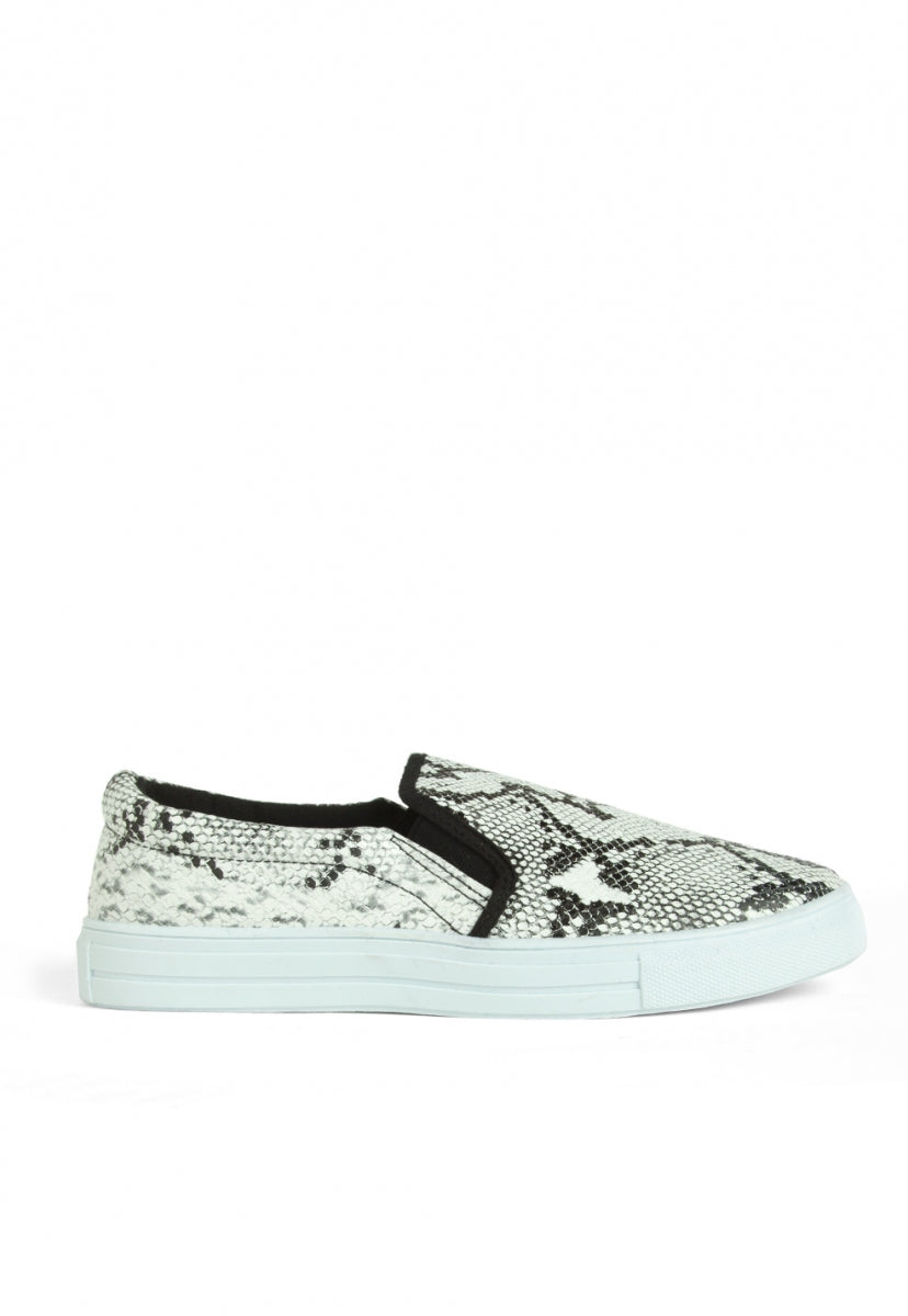 Brookhurst Snake Slip On Sneakers - Shoes - Wetseal