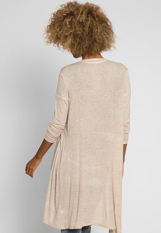 Orchid Fields Duster Cardigan in Oatmeal