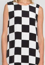 All You Got Checkerboard Dress