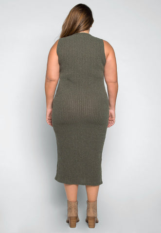 Plus Size Anywhere Sleeveless Knit Dress