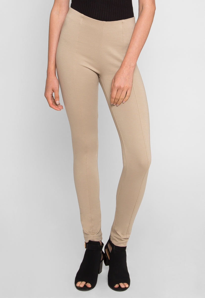 Snap Knit Leggings - Pants - Wetseal