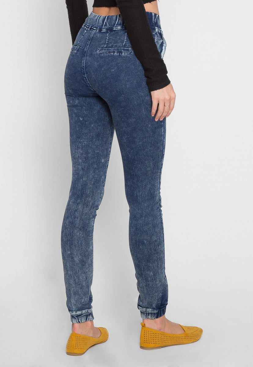 Moment in Time Stone Wash Joggers - Jeans - Wetseal